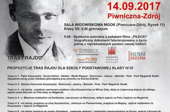 Podróże z Pileckim: spotkanie autorskie oraz Rajd