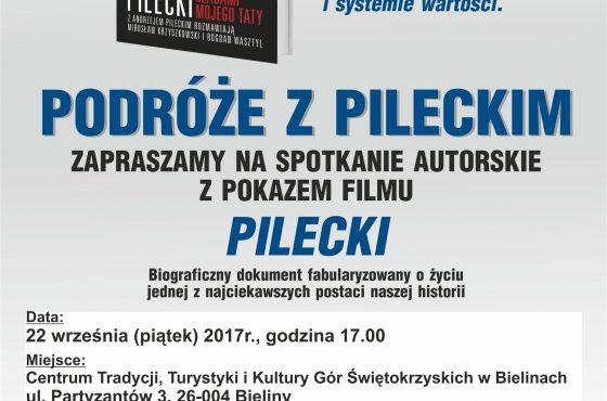 """Zapraszamy na spotkanie autorskie """"Podróże z Pileckim"""""""