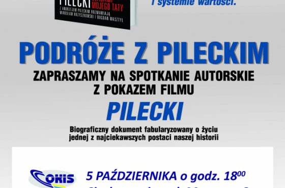 """Ciechanowiec. Projekcja filmu """"Pilecki"""" i spotkanie autorskie"""