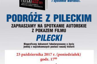 Stary Sącz: Podróże z Pileckim, spotkanie autorskie z pokazem filmu